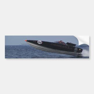 Hazards Of Powerboat Racing Bumper Sticker