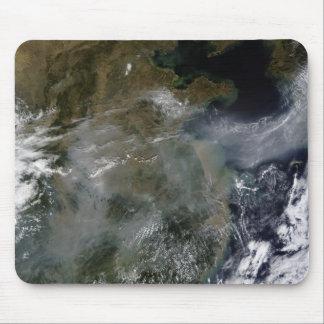 Haze across the North China Plain Mouse Pad