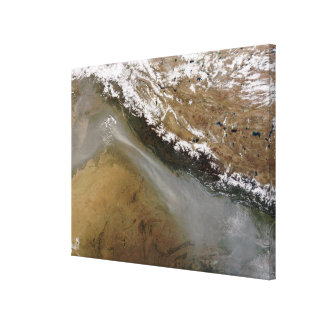 Haze along the Himalaya Mountains Gallery Wrapped Canvas