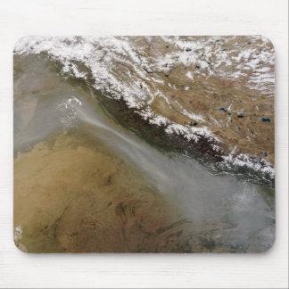 Haze along the Himalaya Mountains Mouse Pad