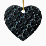 Haze - Mandelbrot Fractal Ceramic Ornament
