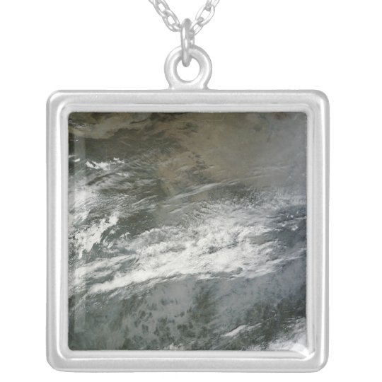 Haze over China Silver Plated Necklace