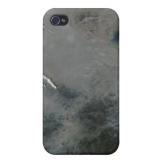Haze over eastern China iPhone 4 Covers
