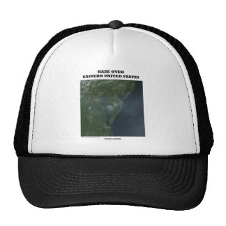 Haze Over Eastern United States (Picture Earth) Trucker Hats