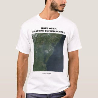 Haze Over Eastern United States (Picture Earth) T-Shirt