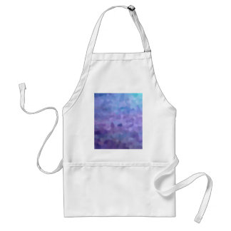 Hazed and Phased Purple Painting Apron