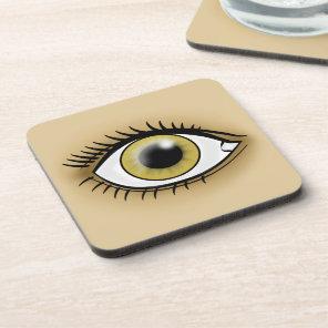 Hazel Eye Icon Drink Coaster