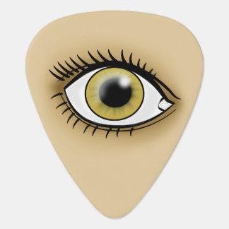 Hazel Eye icon Guitar Pick