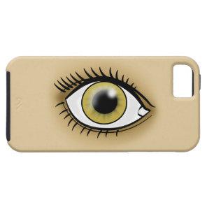 Hazel Eye icon iPhone SE/5/5s Case