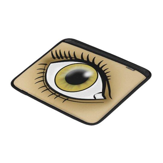 Hazel Eye icon MacBook Sleeve