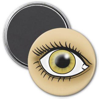 Hazel Eye icon Refrigerator Magnet