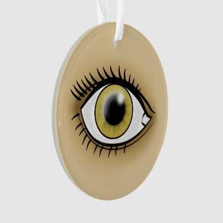 Hazel Eye icon Ornament