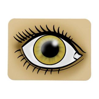 Hazel Eye icon Flexible Magnet