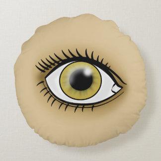Hazel Eye icon Round Pillow