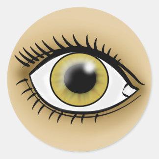 Hazel Eye icon Stickers