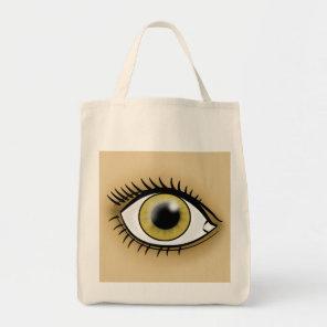 Hazel Eye icon Tote Bag