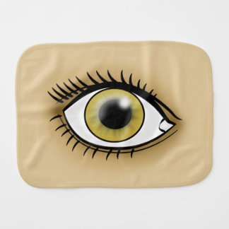 Hazel Eye icon Burp Cloth