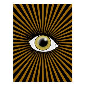 Hazel Eye of Horus Postcard