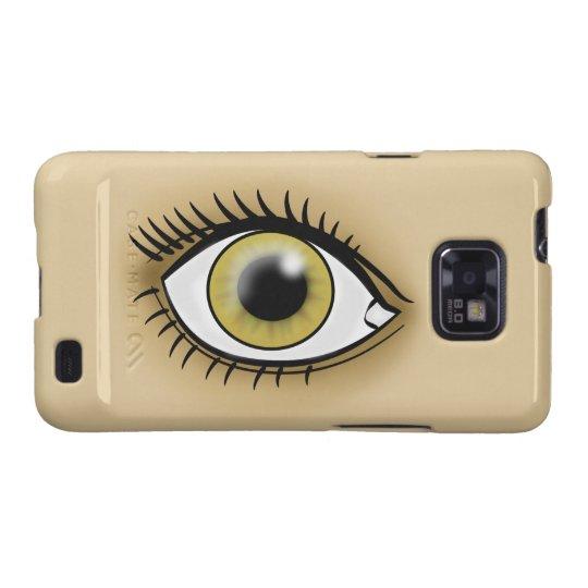 Hazel Eyes icon Galaxy S2 Case