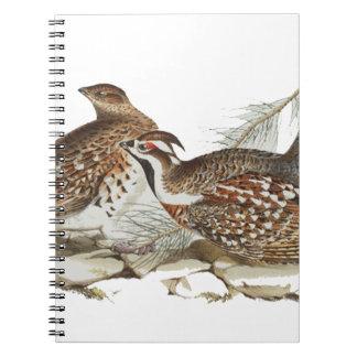 Hazel Grouse Spiral Notebook