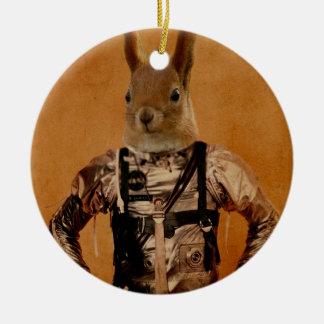 hazel.jpg Double-Sided ceramic round christmas ornament