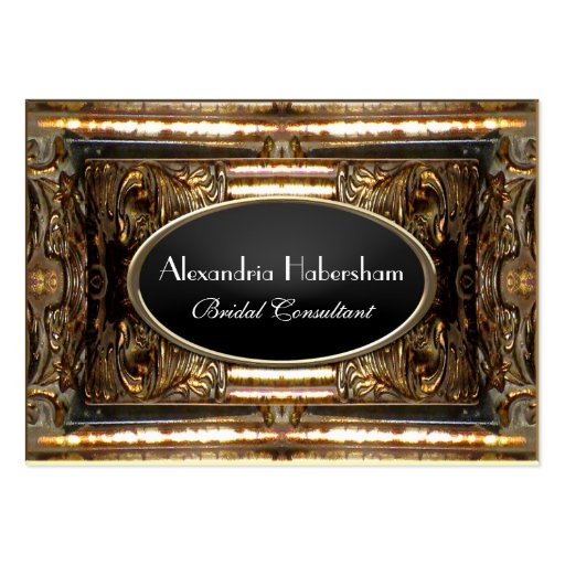 Hazelbryne Elegant Professional Business Card