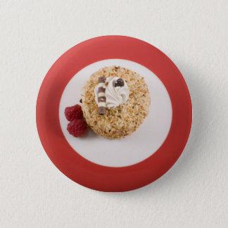 Hazelnut Cake with Raspberries Button