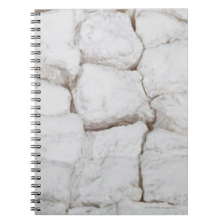 Hazelnut lokum, or Turkish delight Notebook