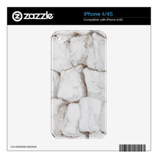 Hazelnut lokum, or Turkish delight Skin For The iPhone 4S