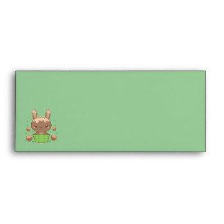 Hazelnut Truffle Bunny Envelope