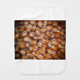 Hazelnuts Burp Cloth