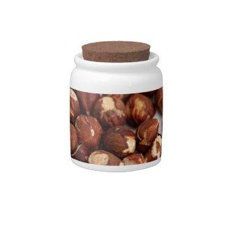 Hazelnuts Candy Jars