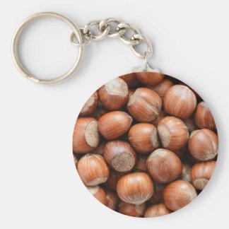 Hazelnuts Keychain