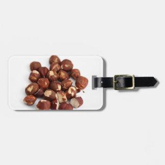 Hazelnuts Luggage Tag