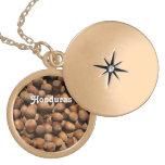 Hazelnuts Round Locket Necklace