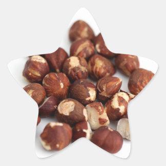 Hazelnuts Star Sticker