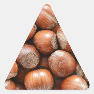 Hazelnuts Triangle Sticker