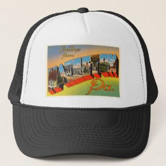 Hazelton Pennsylvania PA Vintage Travel Souvenir Trucker Hat