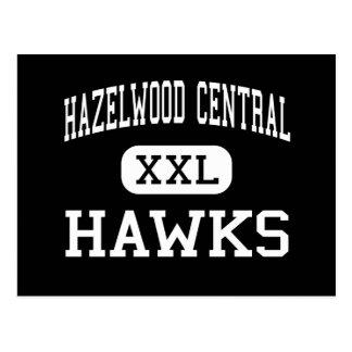 Hazelwood Central - Hawks - High - Florissant Postcard