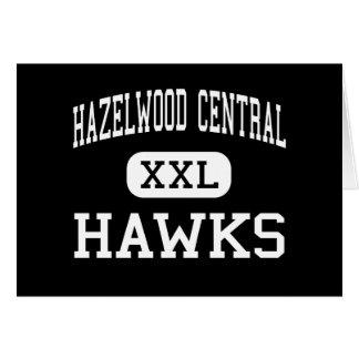 Hazelwood Central - Hawks - High - Saint Louis Greeting Card