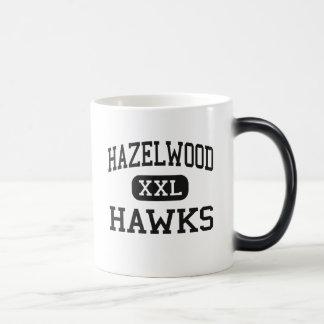 Hazelwood - Hawks - Junior - Florissant Missouri 11 Oz Magic Heat Color-Changing Coffee Mug