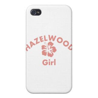 Hazelwood Pink Girl iPhone 4 Cover