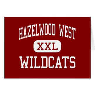 Hazelwood West - Wildcats - Junior - Hazelwood Greeting Card