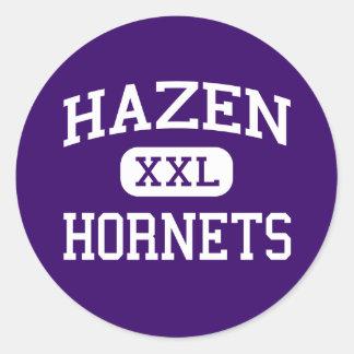 Hazen - Hornets - High School - Hazen Arkansas Classic Round Sticker