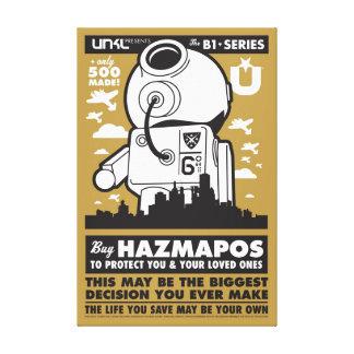 HazMaPoster_Brown Canvas Print