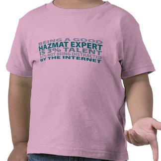 Hazmat Expert 3% Talent Tee Shirts