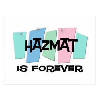 Hazmat Is Forever Postcard