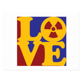 Hazmat Love Postcard