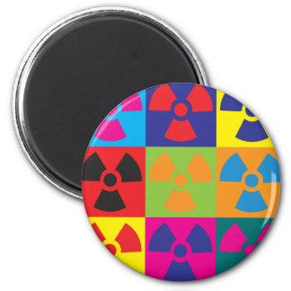 Hazmat Pop Art Fridge Magnets