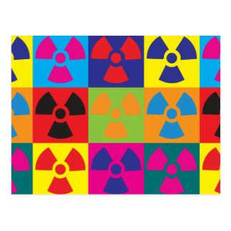 Hazmat Pop Art Postcard